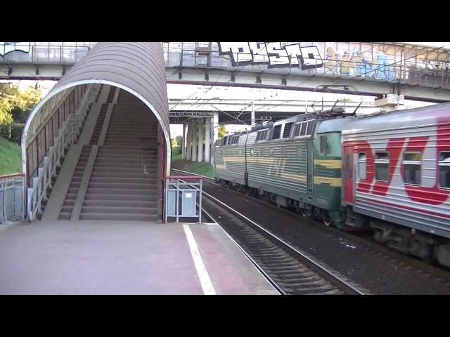 Электровоз ЧС7 082 с поездом № 57 Москва Валуйки