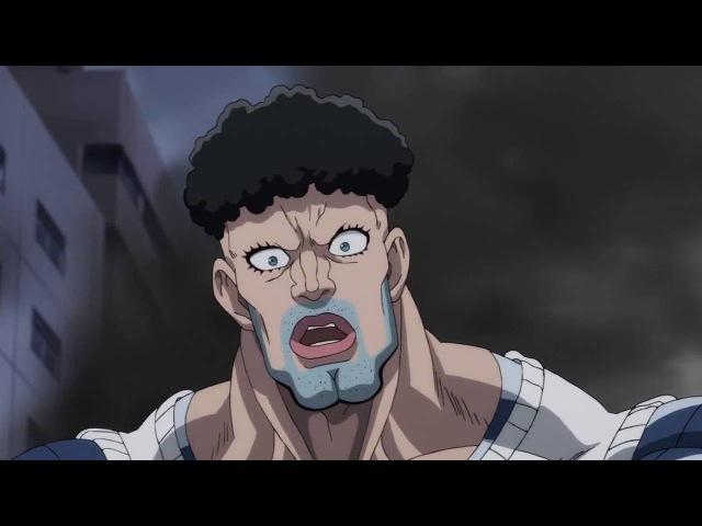 Лучшие приколы и бои аниме Сайтама Ванпанчмен Гомо гомо зек