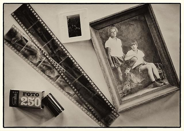 как сделать со старых негативов фотографии укоренения