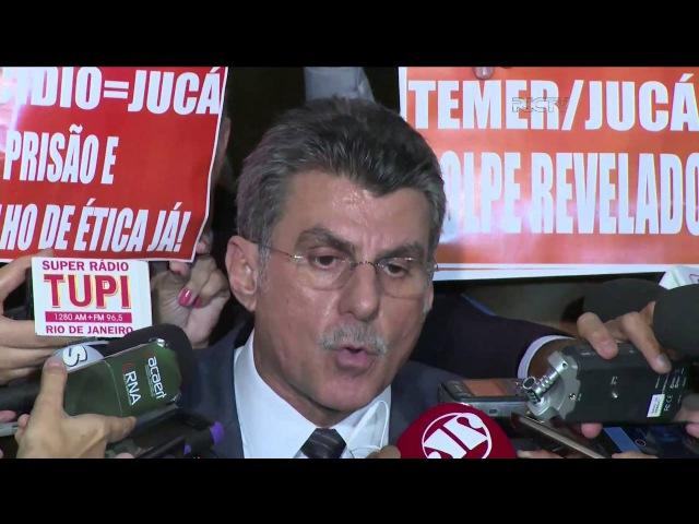 Após vazamento de áudios Romero Jucá anuncia licenciamento do cargo de ministro do planejamento