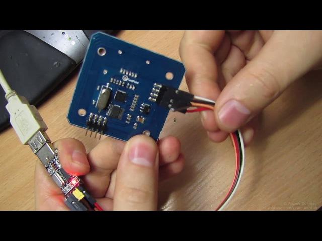 RFID ридер с UART интерфейсом, ICStation Mifare RC522 RFID 13.56Mhz