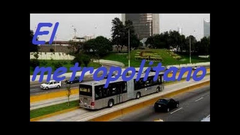 El Metropolitano Sistema de transporte de Lima