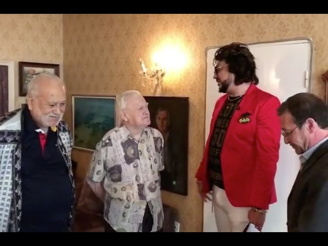 Встреча с болгарским композитором Тончо Русевым