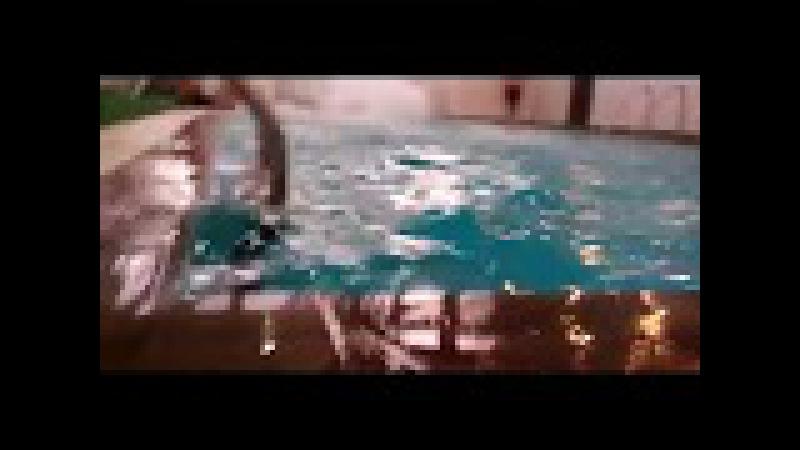 Fr1zy Влог Отдых Бассейн Отель Сауна Отжиг Тает лед ACDC