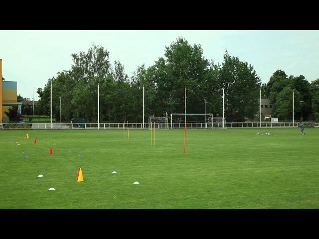 28 Футбольная школа Урок 11 Технико тактические связки 1