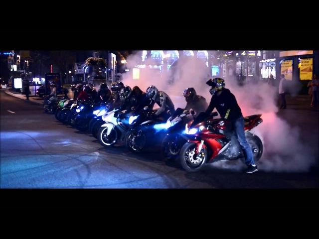 Major Lazer Night Riders Unofficial music video BIKE version