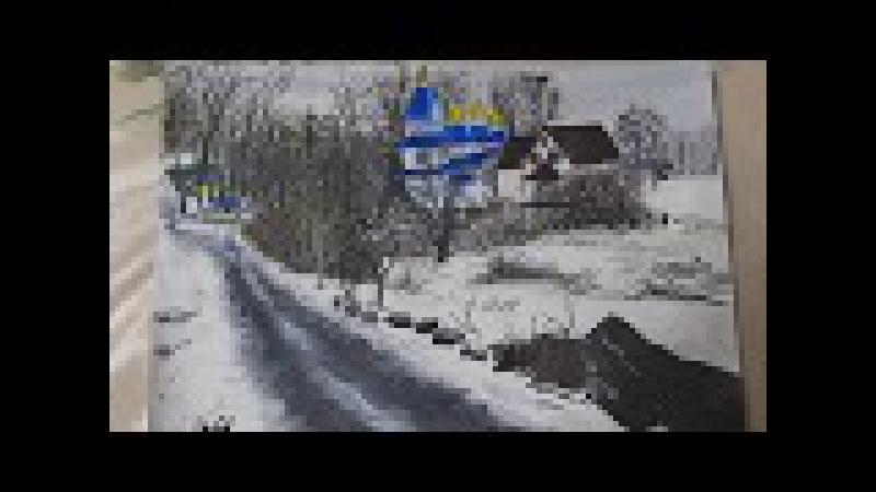 Сільський пейзаж Центр села Сальник Калинівського району Вінницької області