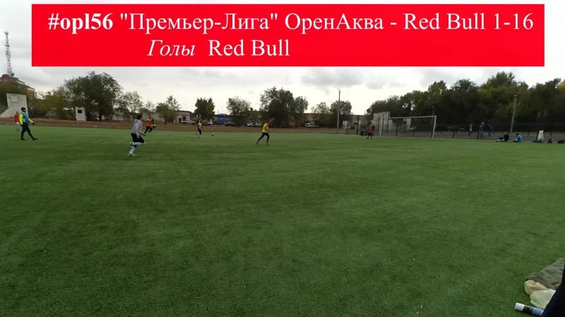 Голы Общий сезон Премьер Лиги ОренАква Red Bull 1 16
