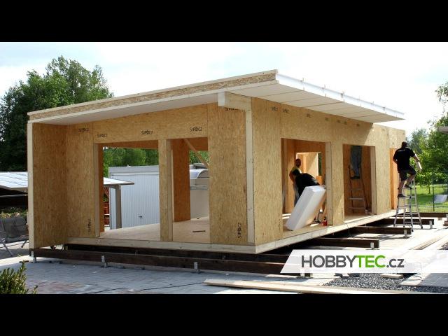Postup stavby a časový harmonogram montovaného domu kompletní stavba
