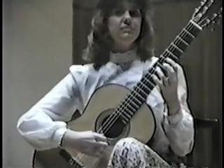 Rare Guitar Video Nicola Hall plays Caprice No. 24 by Niccol Paganini