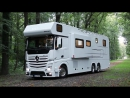 Дом на колёсах Мечта VARIOmobil Reisemobil Produktfilm VARIO Alkoven 1200 MB Actros 2542 LLL