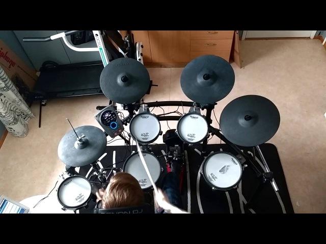 Boney M Rasputin Drum Cover