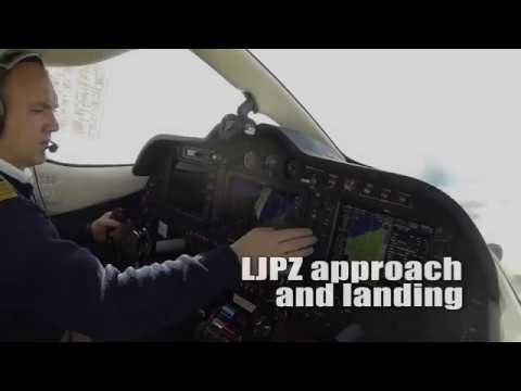 Approach And Landing at LJPZ Portoroz Airport