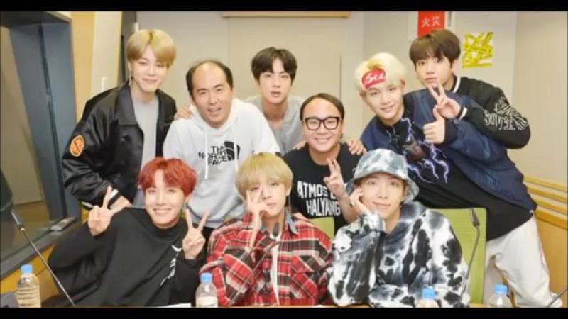 180108 BTS on Trendy Angels PePePe Radio (1)