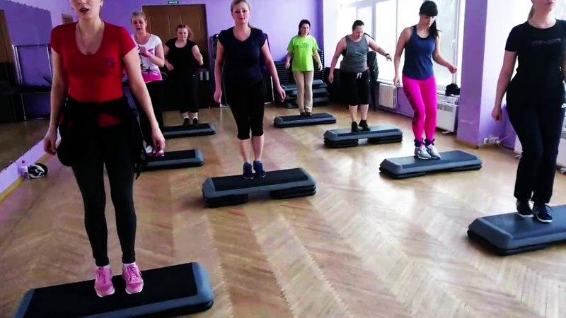 Step-aerobics march 2018 by Prisyazhnaya Larisa D4U studio