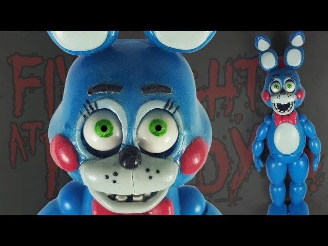 TOY BONNIE ✔POLYMER CLAY ✔PORCELANA FRIA ✔PLASTILINA