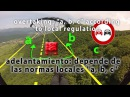 PARAGLIDER RIGHT OF WAY RULES PARAPENTE NORMAS DE TRAFICO AEREO