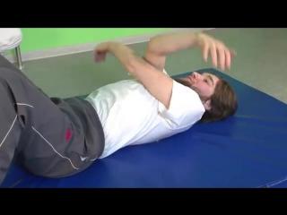 Лечебная гимнастика при остеохондрозе поясничного отдела позвоночника _ упражнения лфк пояснично