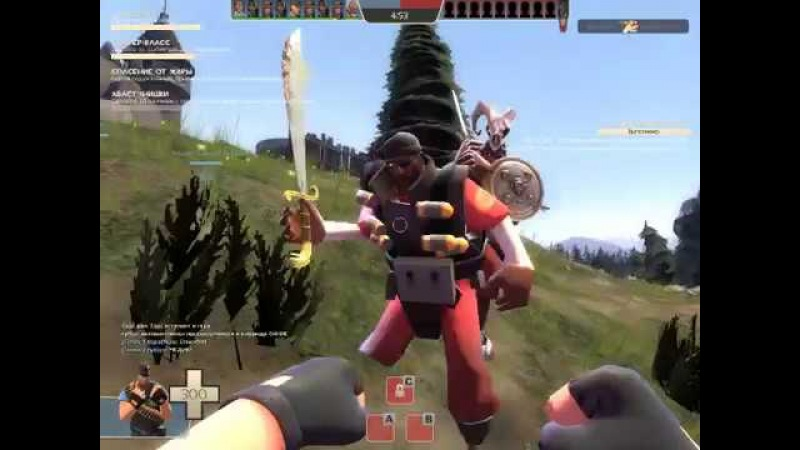 Team Fortress 2 №9 demo knight на Degroot Keep