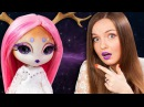 ОЛЕНЬ С ЛУНЫ! ООАК / Кастом Novi Stars Doe A. Deer Обзор куклы MGA Распаковка На Новый год