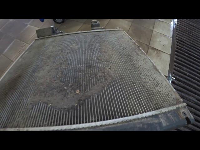 Тойота Центр Люберцы LC150 Мойка радиаторов и замена прокладки термостата