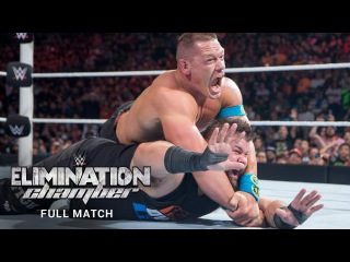 (Wrestling Premium) FULL MATCH John Cena vs Kevin Owens  WWE Elimination Chamber 2016