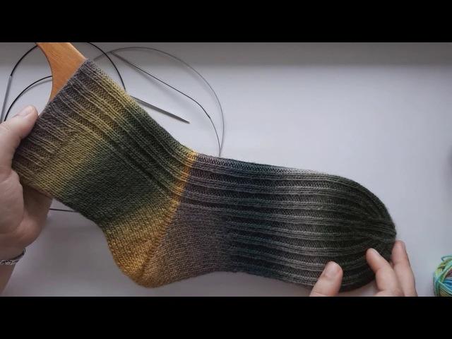 AlinaVjazet. Как связать носки Пятка-бумеранг! Подробный МК