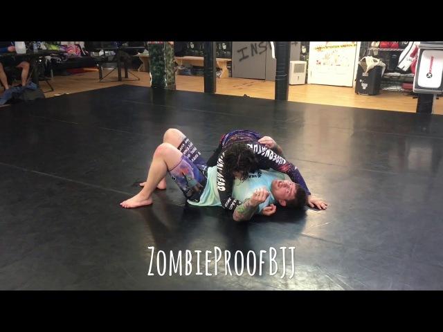 Bellator MMA Liam McGeary Inverted Triangle (Agressive Bottom Side) - ZombieProofBJJ (BreakDown)