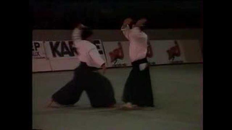 Aikido and Aikibudo at Bercy, Paris 1989