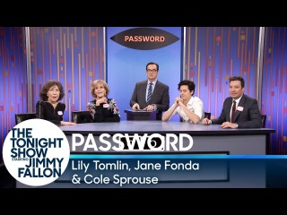Password with Lily Tomlin, Jane Fonda and Cole Sprouse