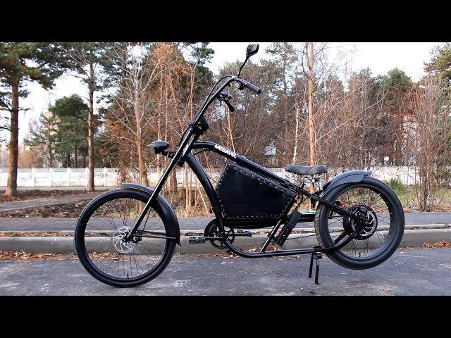 Электрический велосипед чоппер Prado от Megavel 60 км ч 1500 или 3000 Ватт