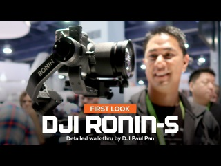 CES 2018 - DJI Ronin-S hand held gimbal for DSLR and mirrorless cameras - Under $1000