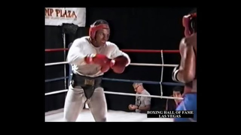 Mike Tyson Tells McCall Come on and FIGHT Sparring Before Holmes