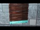 ТРУБОЧКА ДЛЯ ПЛЕТЕНИЯ ИЗ ПЛАСТИКОВЫХ БУТЫЛОК (straw plaiting)
