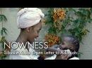 Sibusile Xaba: Open Letter to Adoniah