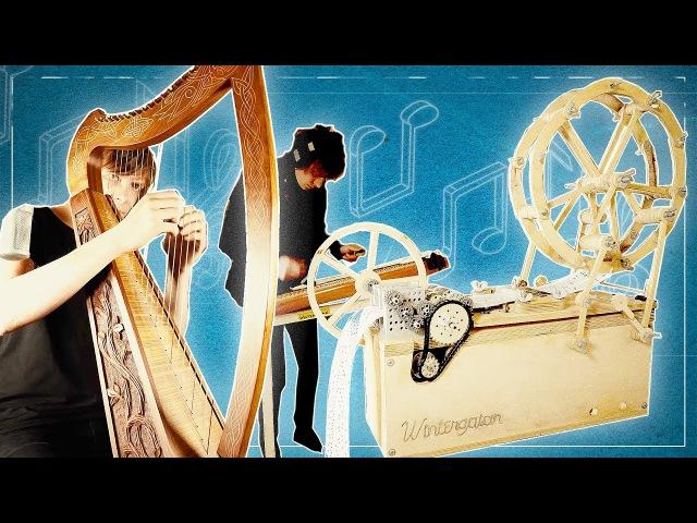 Wintergatan Soundtrack 01 MUSIC BOX HARP HACKBRETT