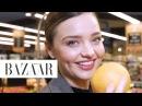 Miranda Kerr's Pregnancy Fitness and Food Plan Little Black Book Harper's BAZAAR