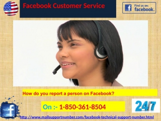 How to avail an insistent facebook customer service 1-850-361-8504   straight away?