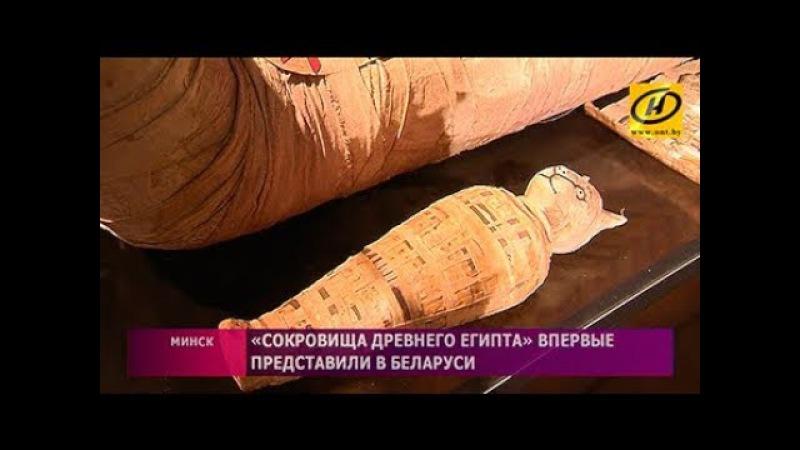 Выставка «Сокровища Древнего Египта» открылась в Минске