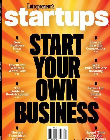 Entrepreneur s Startups - Summer 2018