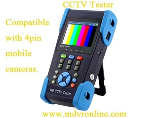 CCTV TESTER for mobile surveillance/mobile DVR/vehicle camera/MDVR