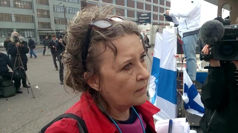 Marco de Wit owns YLEs Merja Niilola