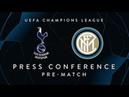 TOTTENHAM vs INTER | Pre-Match Press Conference LIVE | Asamoah, Perisic Luciano Spalletti