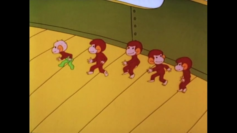 Осторожно обезьянки 3 часть Обезьянки и грабители