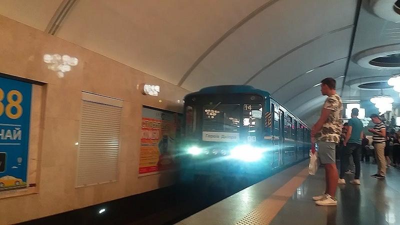 Виставковий центр - Деміївська(М2)Київське метро Vystavkoviy centre - Demiivska(M2)Kyiv