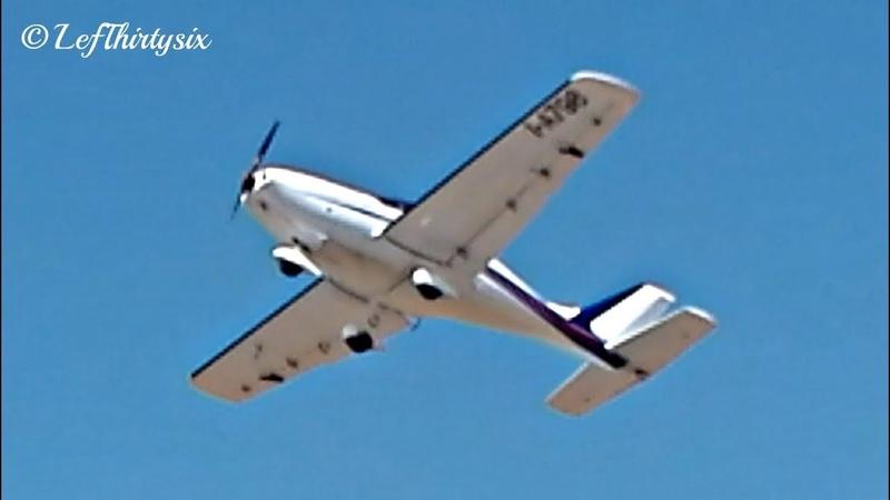 Freccia take off from Aviosuperficie Fondone