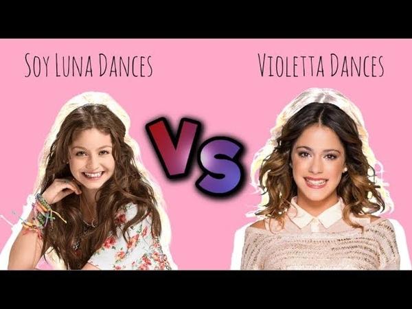 Soy Luna Dances vs Violetta Dances | Abracachasyde