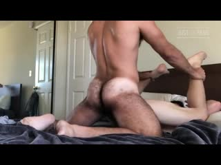 Older taking care of the needs of a younger man