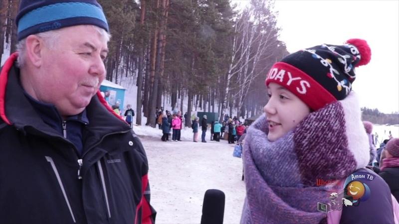 Лыжные гонки на приз первого директора Приборостроительного завода. г. Трехгорный. 2019