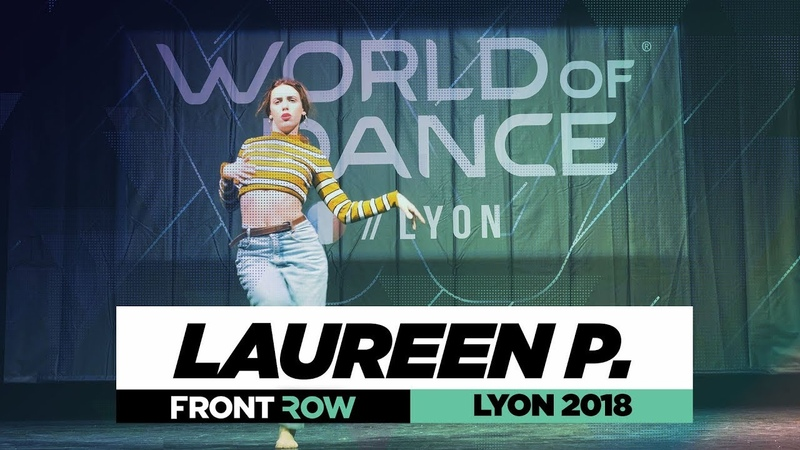 Laureen Parruitte I FRONTROW I World of Dance Lyon 2018